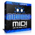Thumbnail MIDI DRUMS Patterns Download