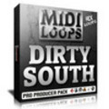Thumbnail Dirty South MIDI Loops - Strings Leads Pads Keys