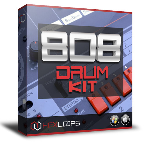 Product picture 808 Drum Kit  - Trap Hip Hop Producer Pack