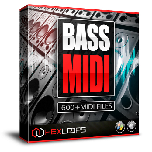 Product picture BASS MIDI FILES - BASS MIDI LOOPS