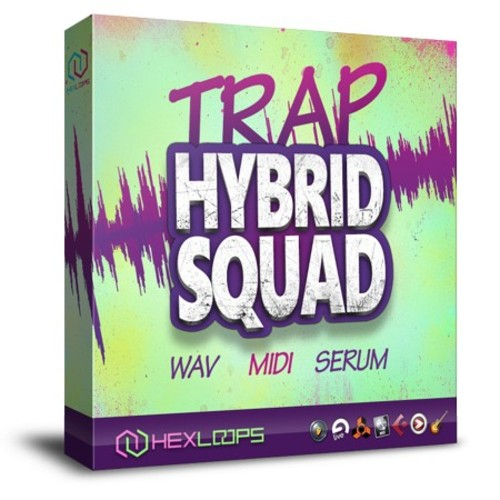 Product picture Trap Hybrid Squad - Trap Loops  Pack