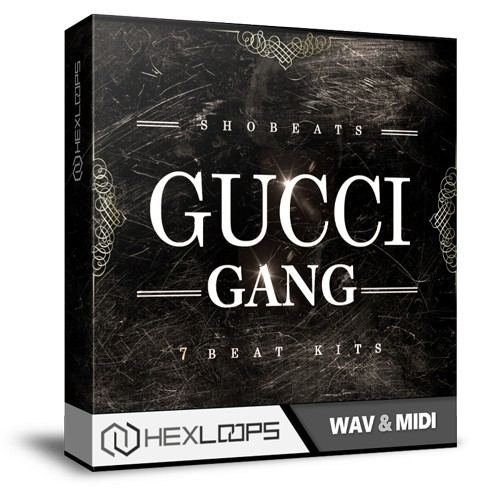 Product picture GUCCI GANG Trap Sample Pack